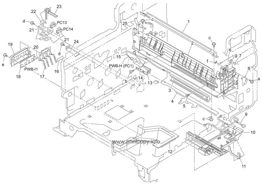 Parts Catalog > Konica-Minolta > bizhub C450 > page 32