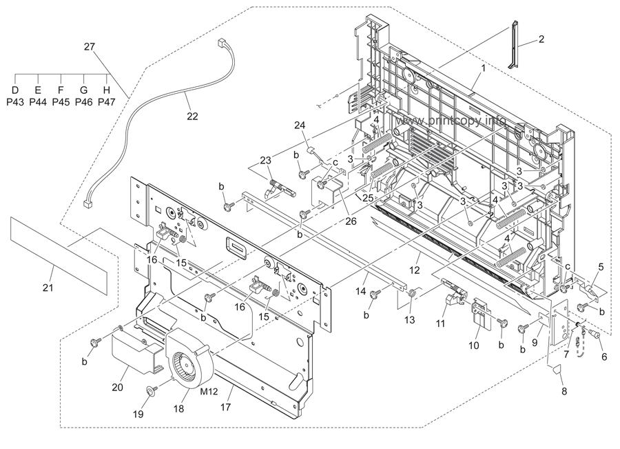 Parts Catalog > Konica-Minolta > bizhub C450 > page 42