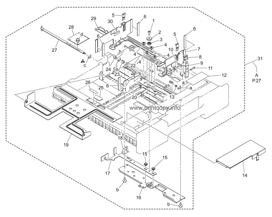 Parts Catalog > Konica-Minolta > bizhub C451 > page 26