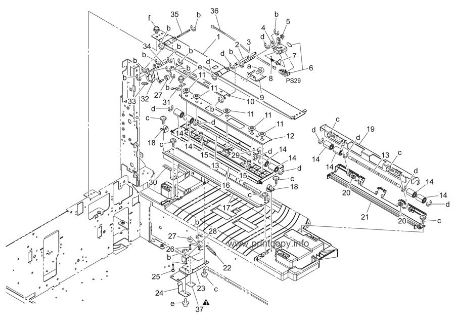 Parts Catalog > Konica-Minolta > bizhub C451 > page 34