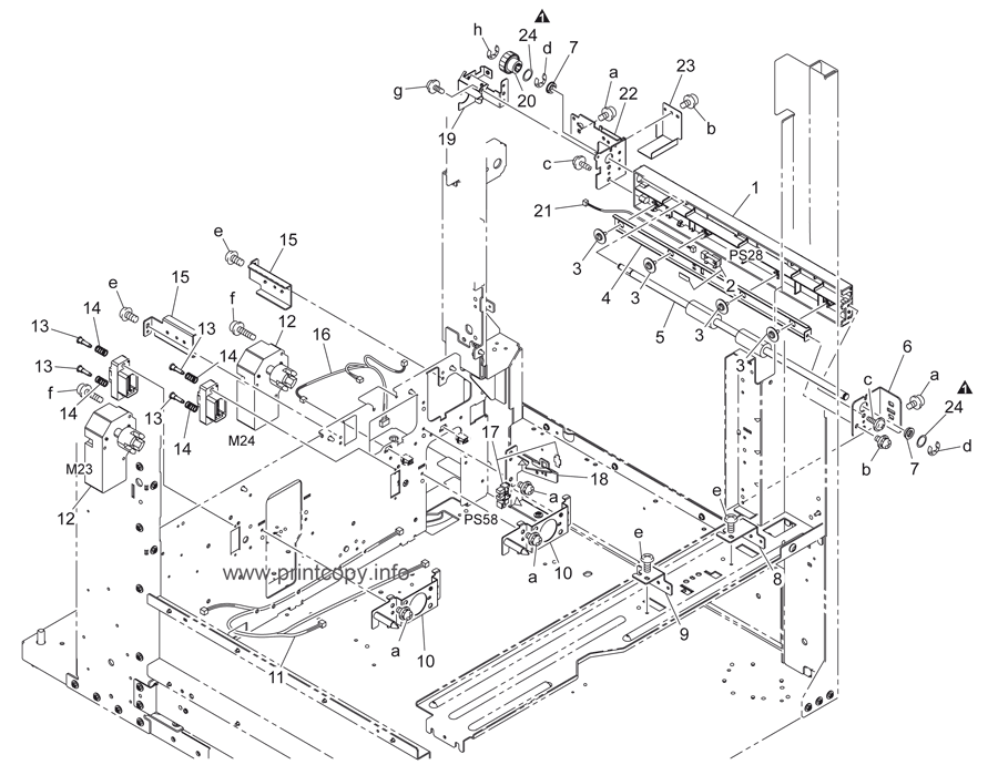 Parts Catalog > Konica-Minolta > bizhub C451 > page 38