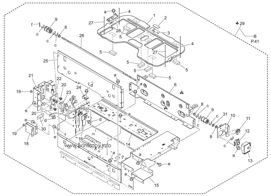 Parts Catalog > Konica-Minolta > bizhub C451 > page 39