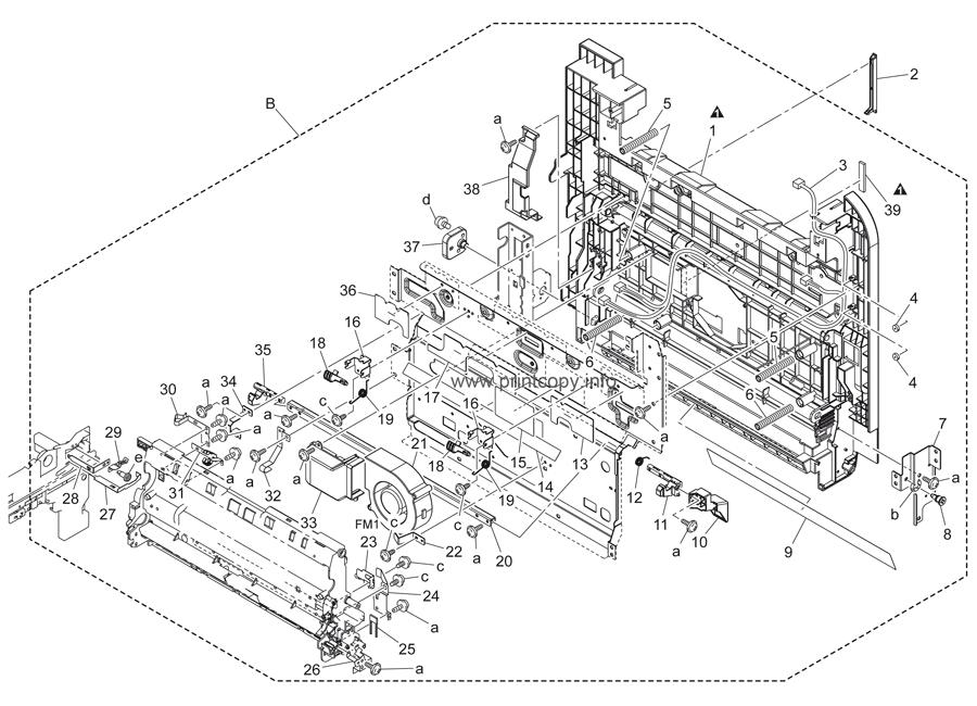 Parts Catalog > Konica-Minolta > bizhub C451 > page 48