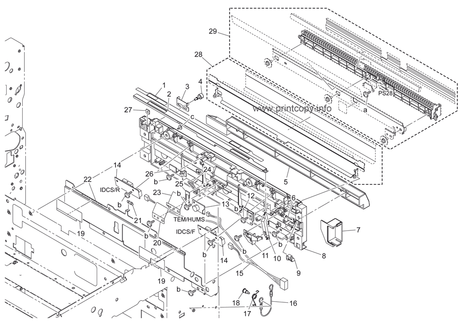 Parts Catalog > Konica-Minolta > bizhub C451 > page 49