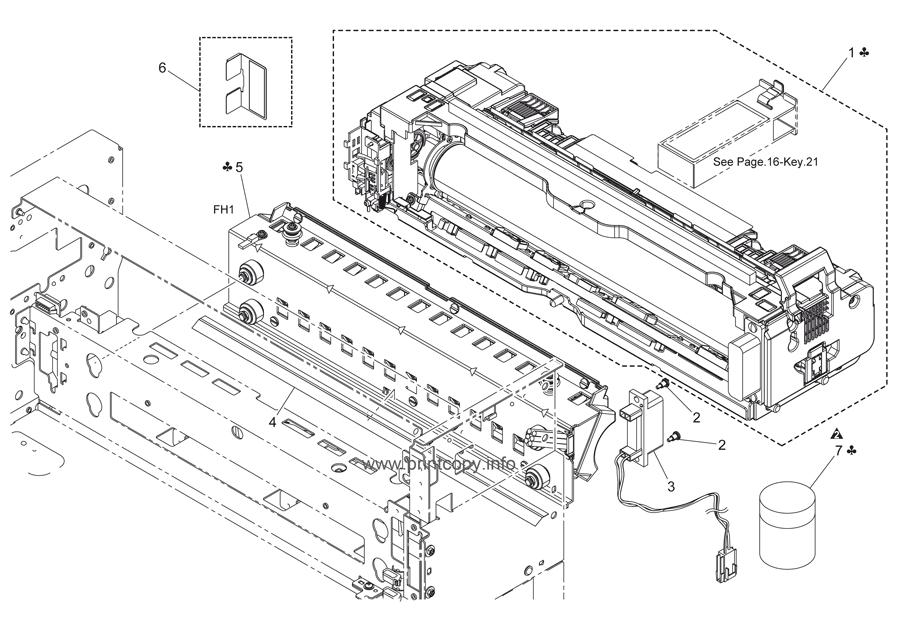 Parts Catalog > Konica-Minolta > bizhub C451 > page 51