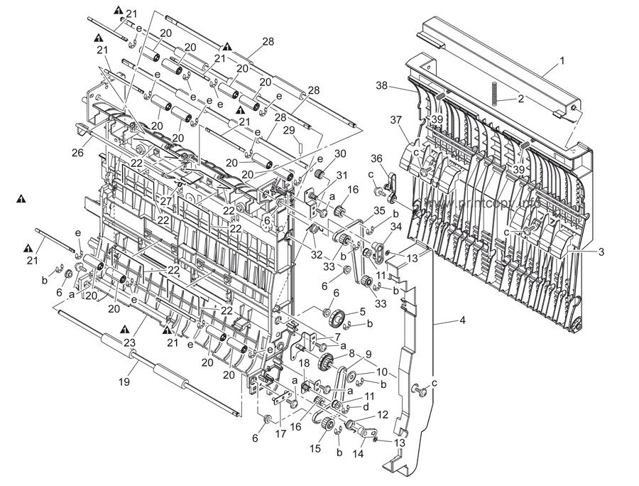 Parts Catalog > Konica-Minolta > bizhub C451 > page 52