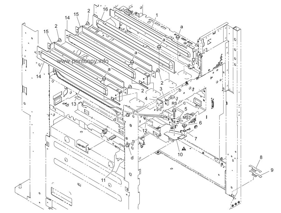 Parts Catalog > Konica-Minolta > bizhub C451 > page 65