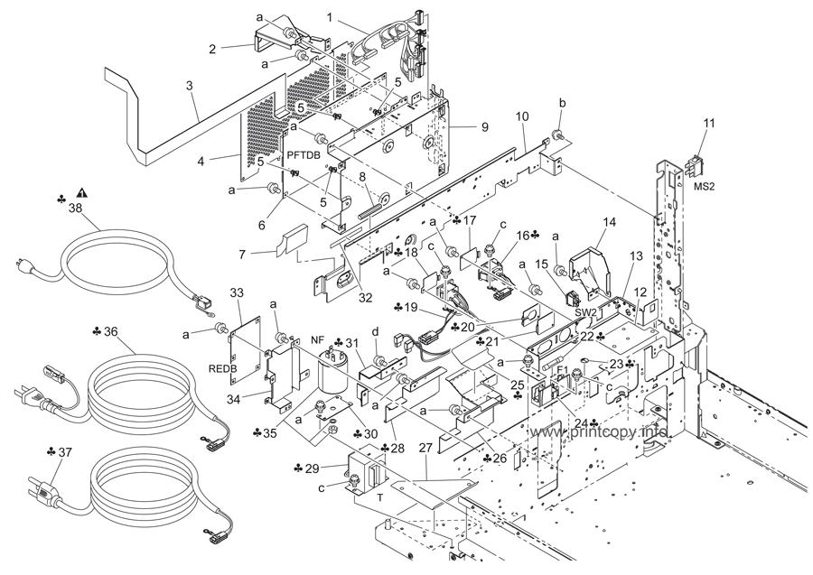Parts Catalog > Konica-Minolta > bizhub C451 > page 70