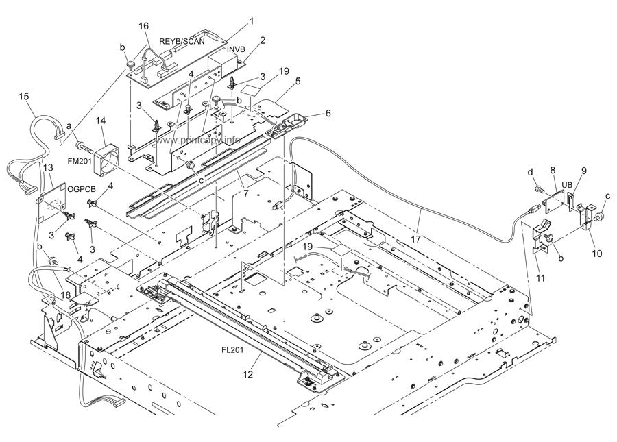 Bizub C452 D / Konica Minolta Bizhub C452 C552 C652 Unite
