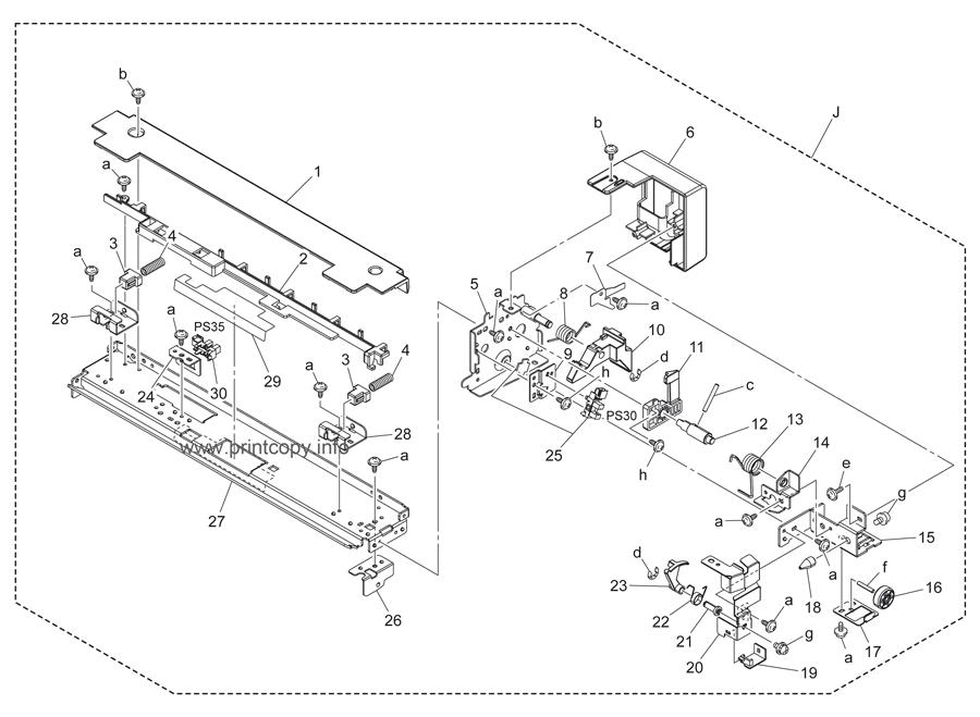 Parts Catalog > Konica-Minolta > bizhub C452 > page 57