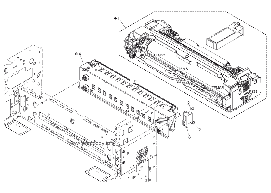 Parts Catalog > Konica-Minolta > bizhub C452 > page 65