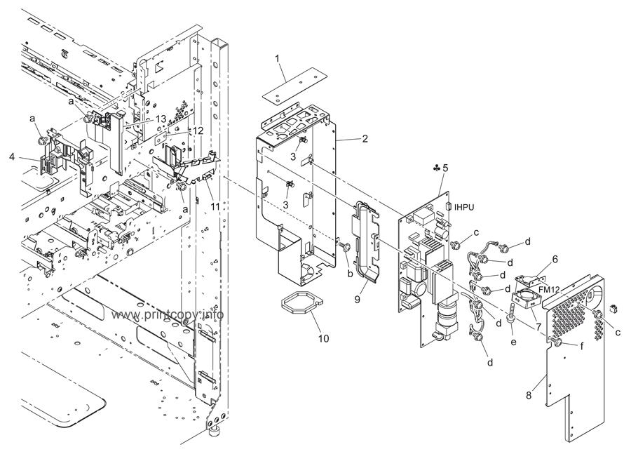 Parts Catalog > Konica-Minolta > bizhub C452 > page 86
