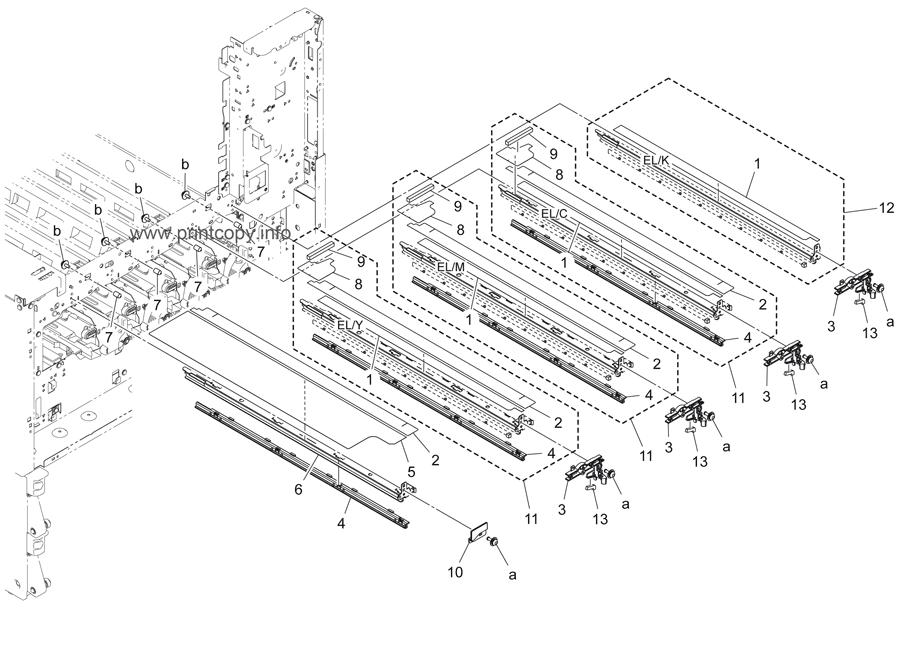 Parts Catalog > Konica-Minolta > bizhub C454 > page 29