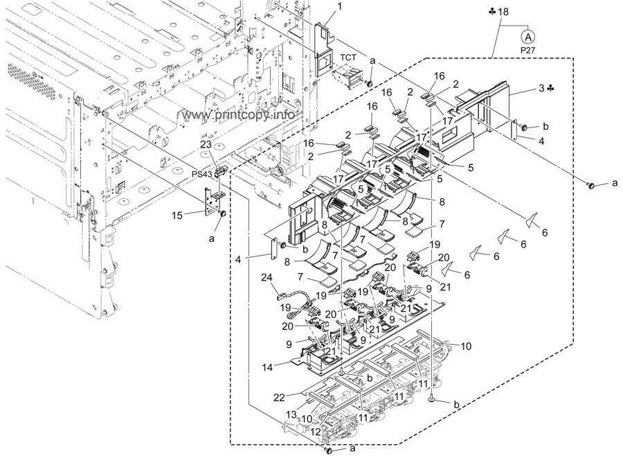 Parts Catalog > Konica-Minolta > bizhub C454e > page 26