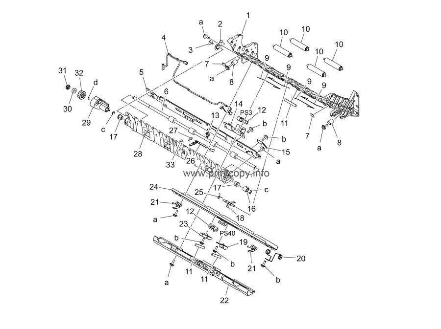 Parts Catalog > Konica-Minolta > bizhub C454e > page 50
