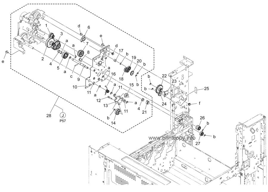 Bizhub C454E Fuser / Konica Minolta Fusing Unit A7ahr72311