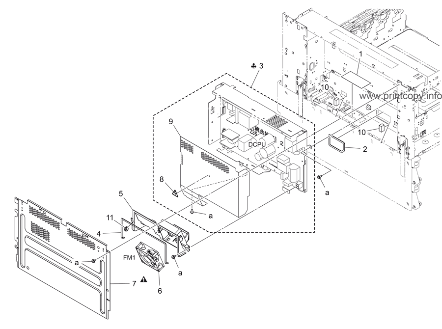 Parts Catalog > Konica-Minolta > bizhub C454e > page 60