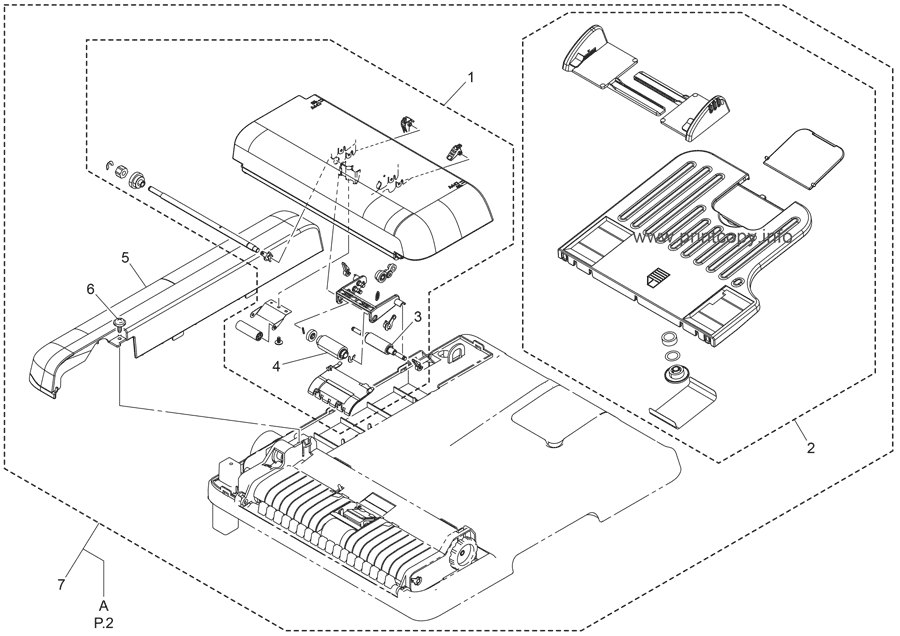 Parts Catalog > Konica-Minolta > magicolor 1680MF > page 1