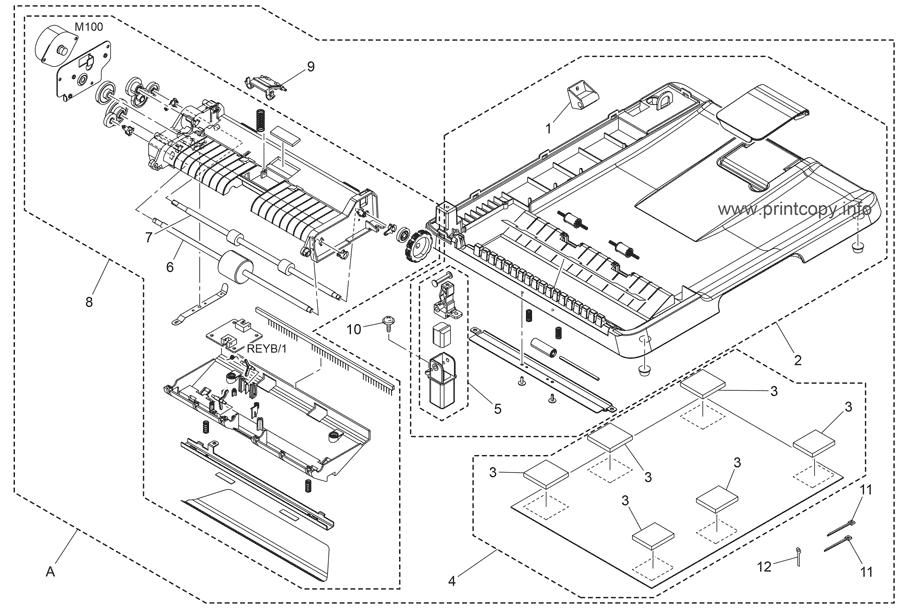 Parts Catalog > Konica-Minolta > magicolor 1680MF > page 2