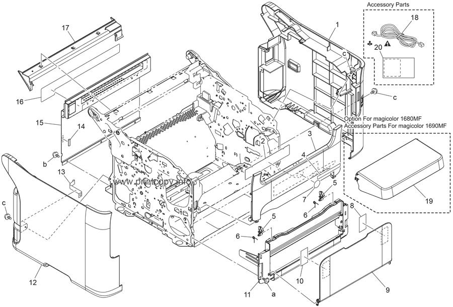 Parts Catalog > Konica-Minolta > magicolor 1690MF > page 4