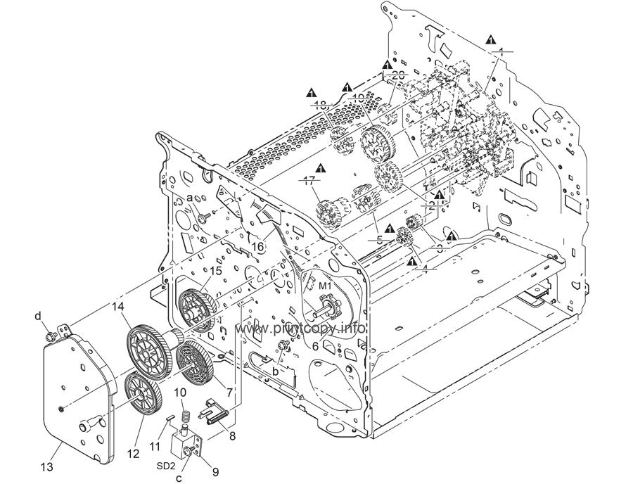 Parts Catalog > Konica-Minolta > magicolor 1690MF > page 12