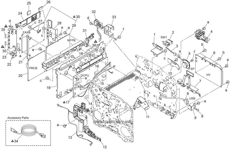 Parts Catalog > Konica-Minolta > magicolor 1690MF > page 17