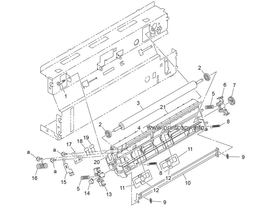 Parts Catalog > Konica-Minolta > magicolor 2490MF > page 22