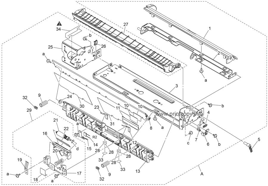 Parts Catalog > Konica-Minolta > magicolor 7450 > page 6