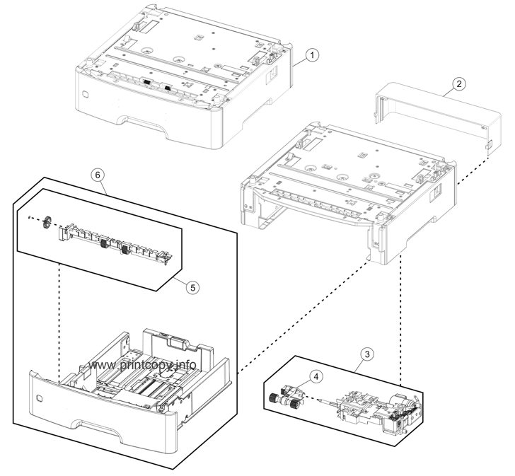 Parts Catalog > Lexmark > MS312dn > page 5