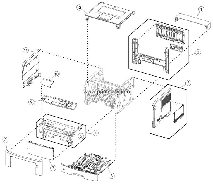 Parts Catalog > Lexmark > M1140 > page 1