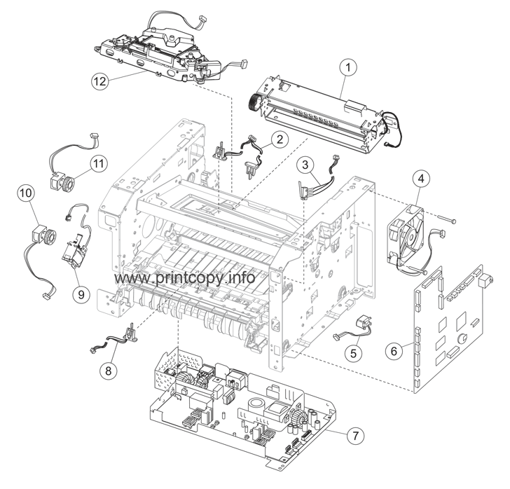 Parts Catalog > Lexmark > X364dn > page 3