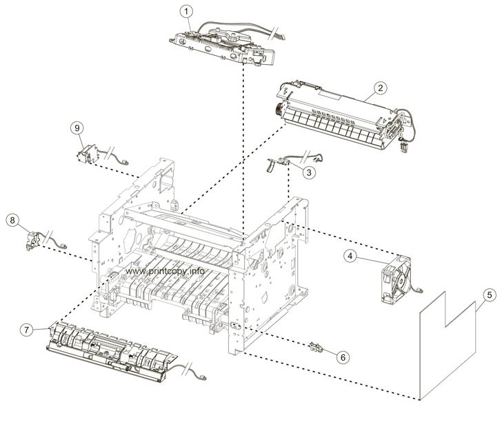 Parts Catalog > Lexmark > MX310dn > page 5