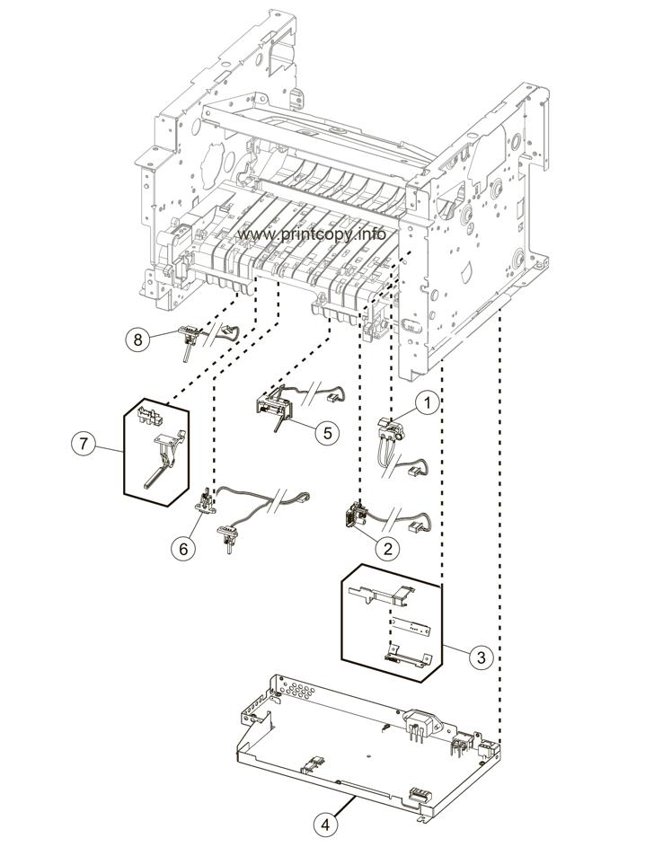 Parts Catalog > Lexmark > MX410de > page 6
