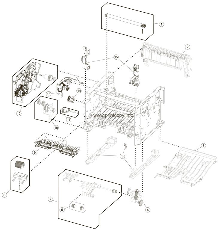 Parts Catalog > Lexmark > MX410de > page 7