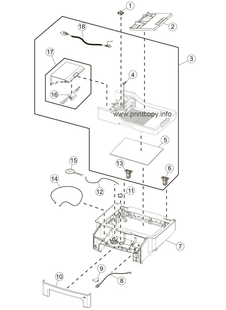 Parts Catalog > Lexmark > MX611de > page 2