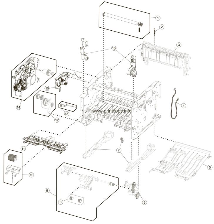 Parts Catalog > Lexmark > MX611de > page 6