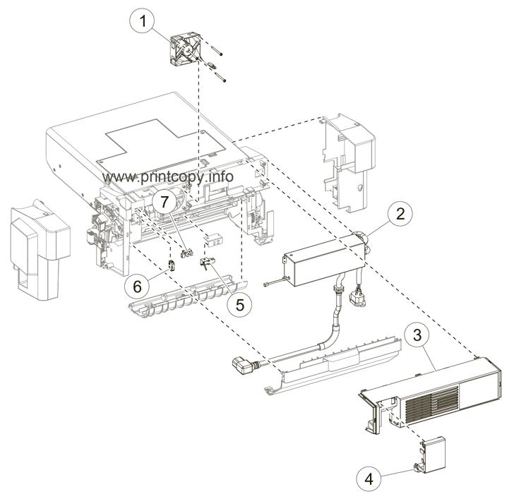 Parts Catalog > Lexmark > MX610de > page 11