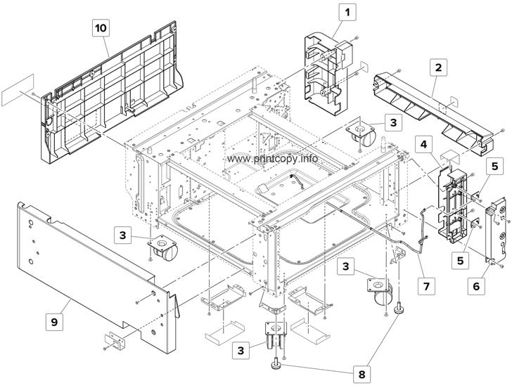 Parts Catalog > Lexmark > XM9155 > page 62