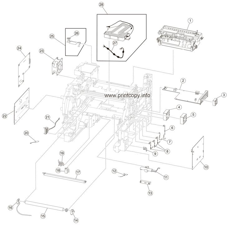 Parts Catalog > Lexmark > X658de > page 6