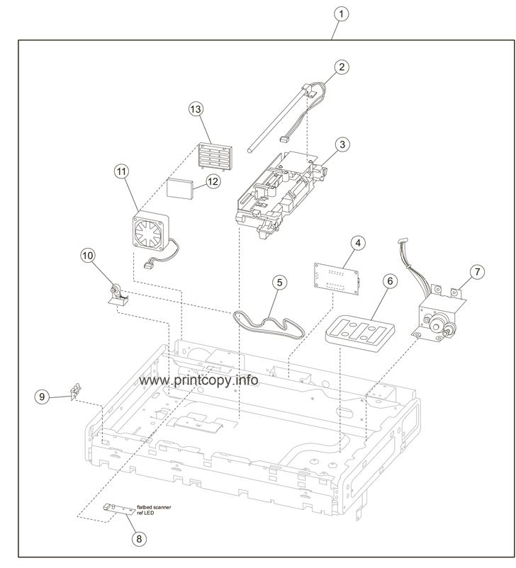 Parts Catalog > Lexmark > X656dte > page 7