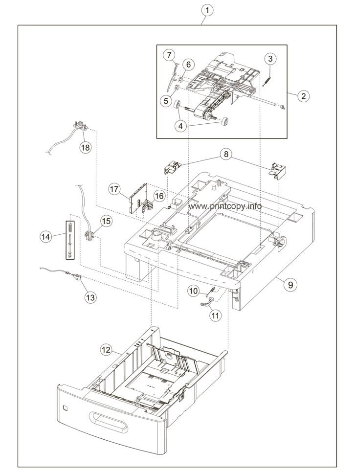 Parts Catalog > Lexmark > X654de > page 13
