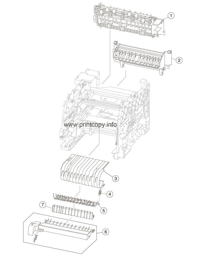 Parts Catalog > Lexmark > MX711de > page 3