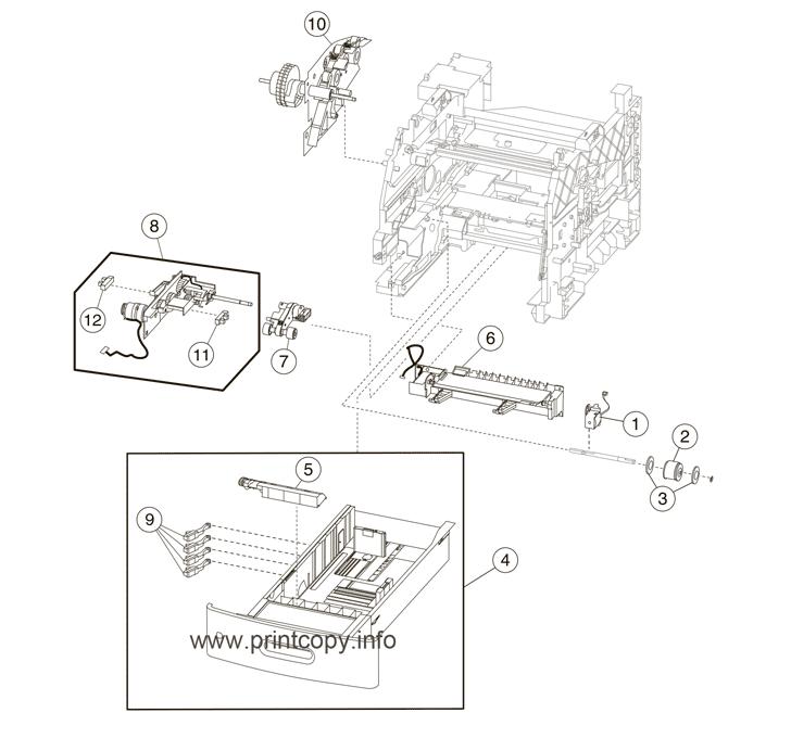 Parts Catalog > Lexmark > MX711de > page 11