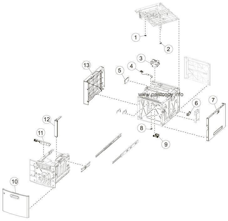 Parts Catalog > Lexmark > MX711de > page 24