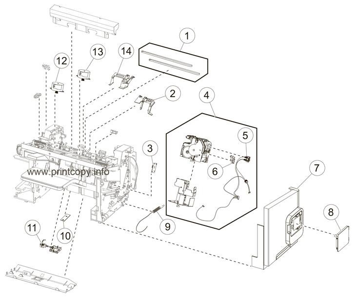 Parts Catalog > Lexmark > MX711de > page 29