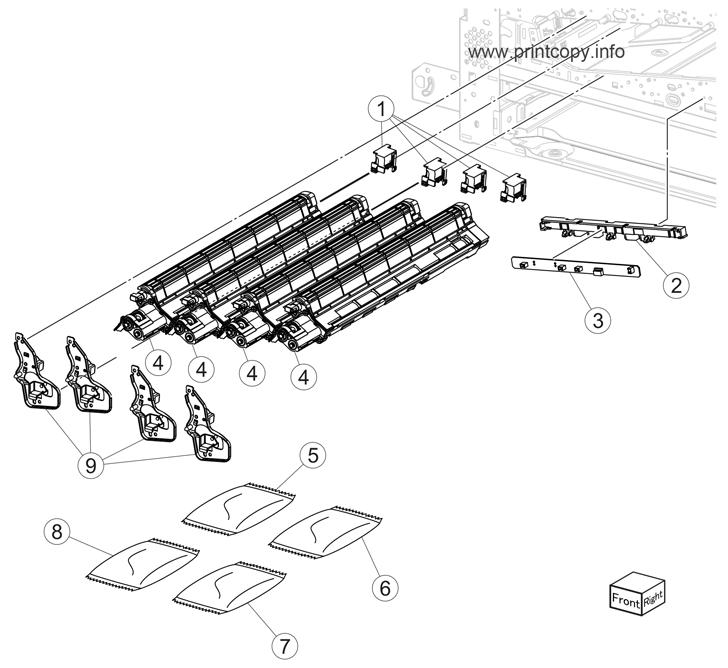 Parts Catalog > Lexmark > X954dhe > page 19