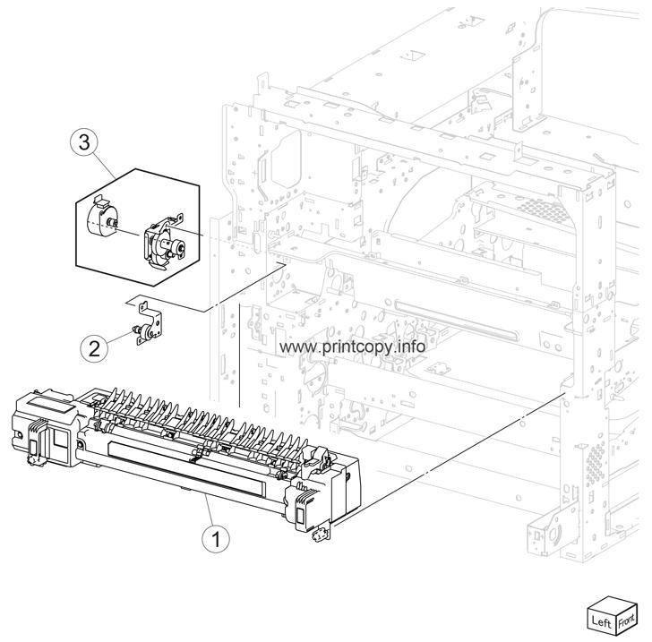 Parts Catalog > Lexmark > X950de > page 23