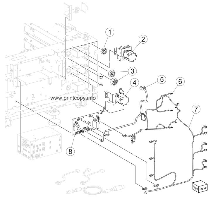 Parts Catalog > Lexmark > X950de > page 31