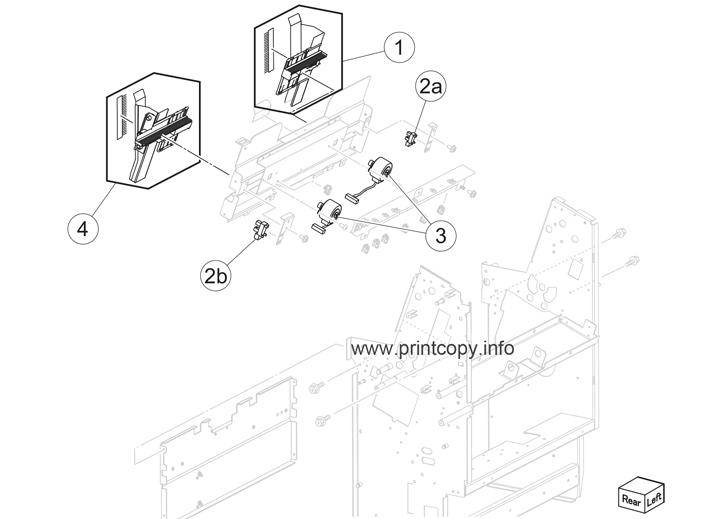 Parts Catalog > Lexmark > X950de > page 87
