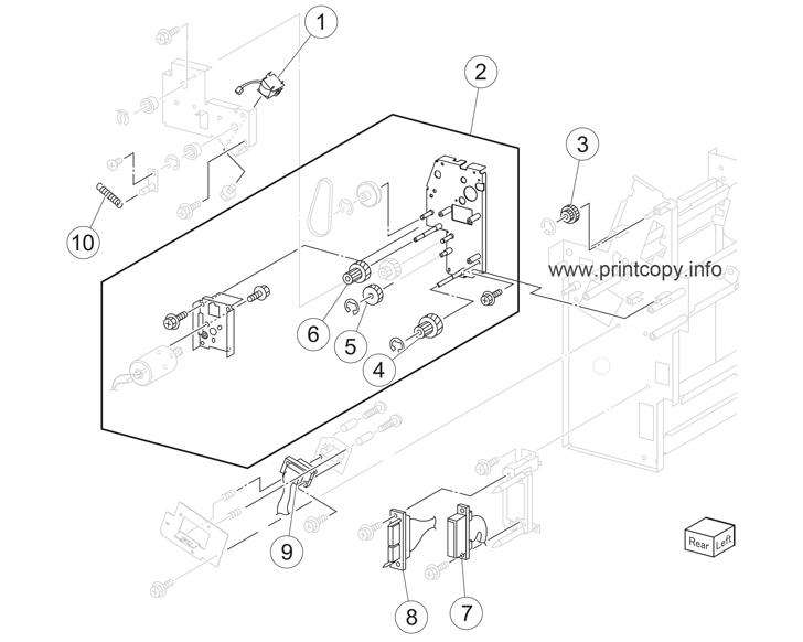 Parts Catalog > Lexmark > X950de > page 90
